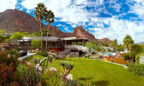The Sanctuary on Camelback Mountain Resort and Spa Named Most Beautiful Hotel in Arizona